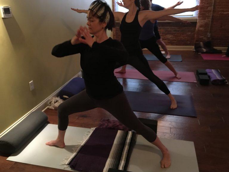First post surgery yoga class week 7-19