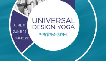 UD Yoga from 3:30 pm to 5 pm June 8th, June 15th and June 22nd